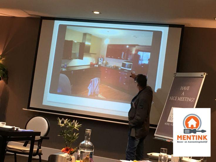 Onlangs een presentatie gehouden voor meer dan 20 ondernemers bij BNI Bruisend Ondernemen   Mooie projecten getoond!