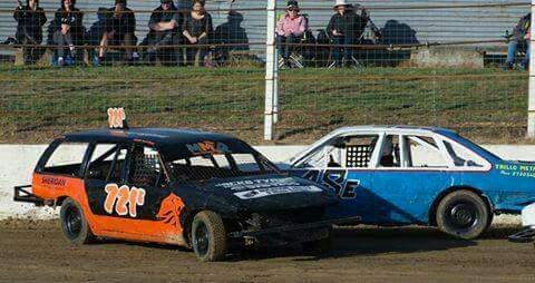 2017 eastern states speedway Team Rebel/ Dilligaf racings Anthony Clark, showing the young bull respect your elders class comes to those who listen.
