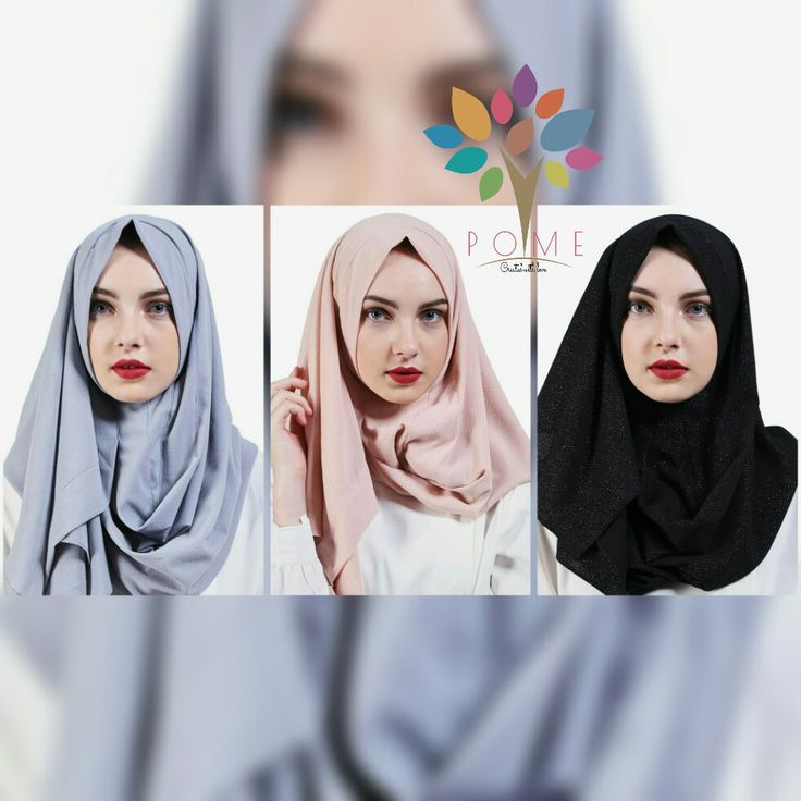 New colors of Khadijah Instan Scarf by POME are available on vipplaza.co.id 😍😍😍