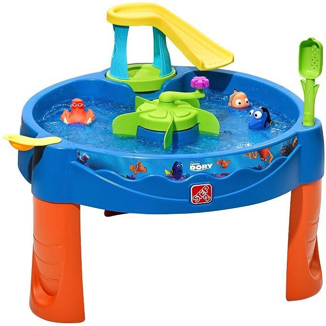 Step2 Disney / Pixar Finding Dory Swim & Swirl Water Table  Have a splash-tastic time with Dory and friends with this Disney / Pixar Finding Dory Swim & Swirl Water Table by Step2.