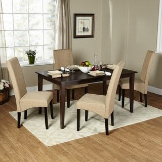 Shop For Simple Living 5 Piece Brentwood Parson Dining Set. Get Free  Delivery At