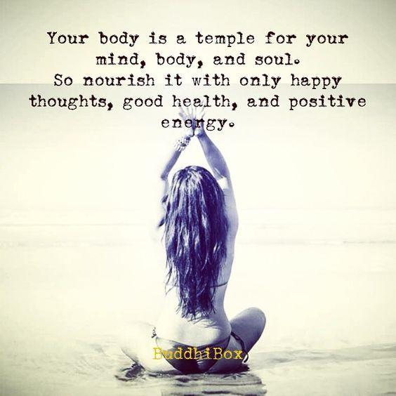 nourish your body well