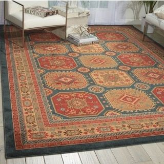 Shop for Nourison Maymana Midnight Rug (5'3 x 7'4). Get free shipping at Overstock.com - Your Online Home Decor Outlet Store! Get 5% in rewards with Club O!