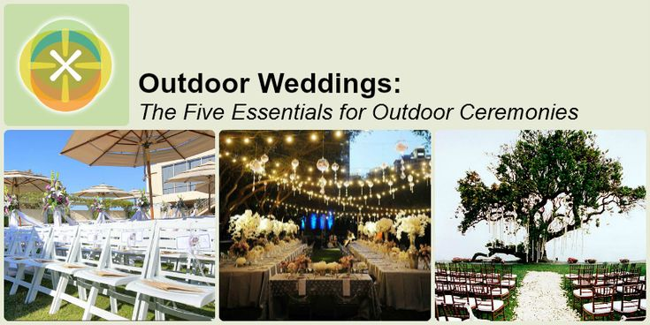 25+ Best Ideas About Outside Wedding Ceremonies On