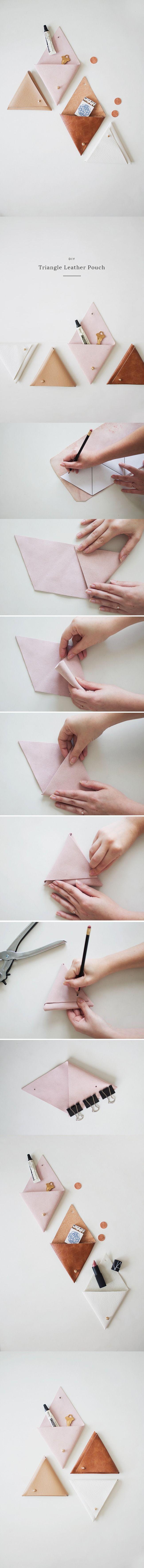 Bello estuche de cuero sintético - Muy Ingenioso