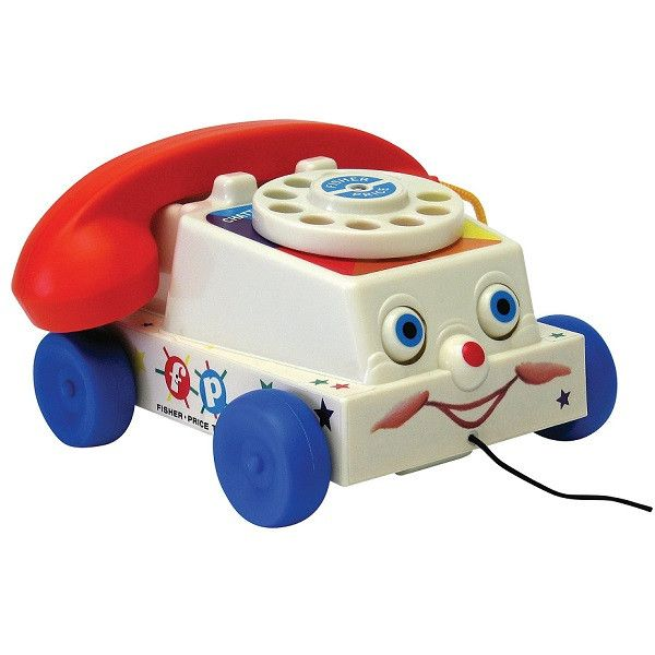 A classic toy from the past for kids of today! With its moving eyes and silly sounds this classic toy has never gone out of style. Loved worldwide by parents, children and collectors alike. #retrotoys #baby #classic #fisherprice