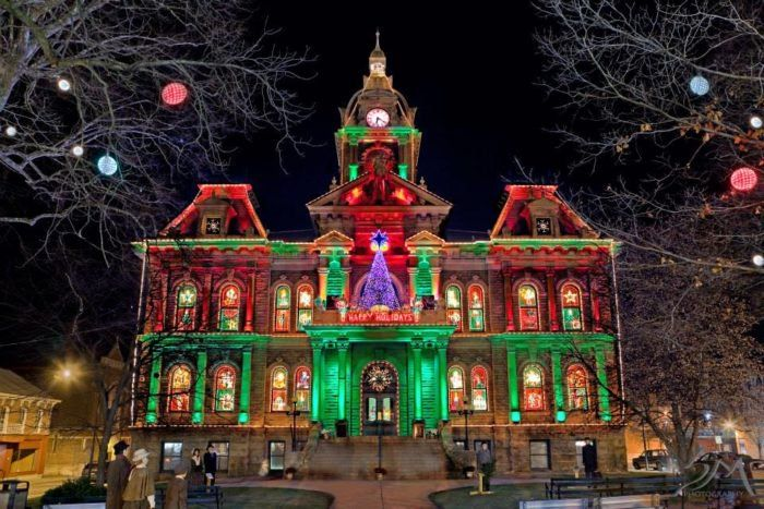 11. Experience an old world Christmas at Dickens Victorian Village of Cambridge.