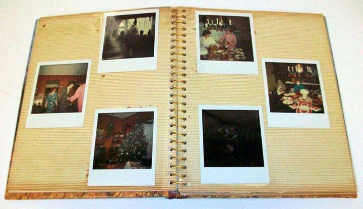 Sticky photo albums