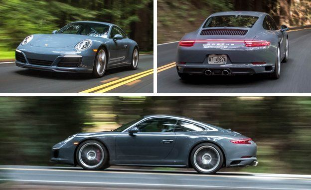 2017 Porsche 911 Carrera 4S Coupe First Drive – Review – Car and Driver