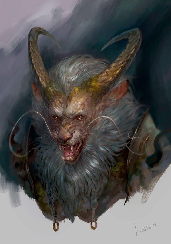 beast_sketch, Oksana Kerro on ArtStation at https://www.artstation.com/artwork/P4DQ1: