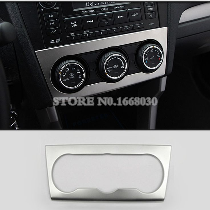 Inner Center Air Condition Button Trim Cover For Subaru XV Crosstrek 2012-2014 #Affiliate