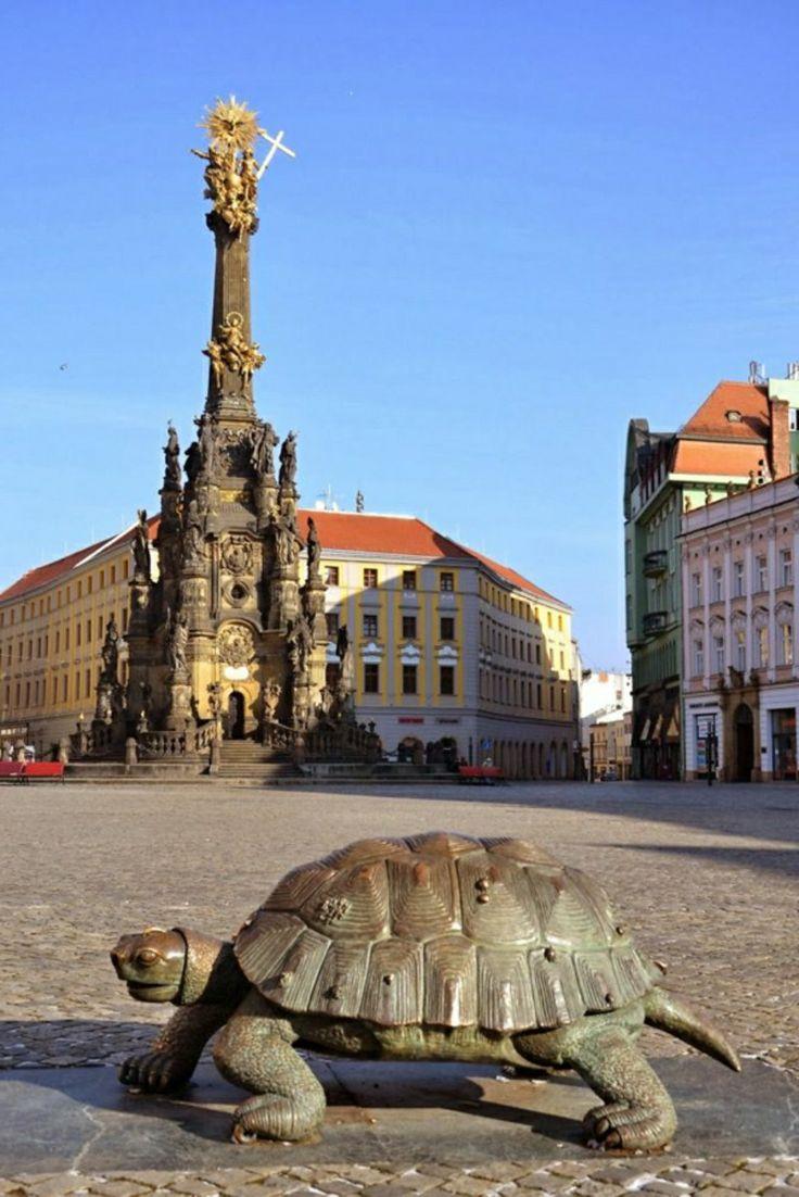 berühmte kunstwerke, Olomouc, Tschechien