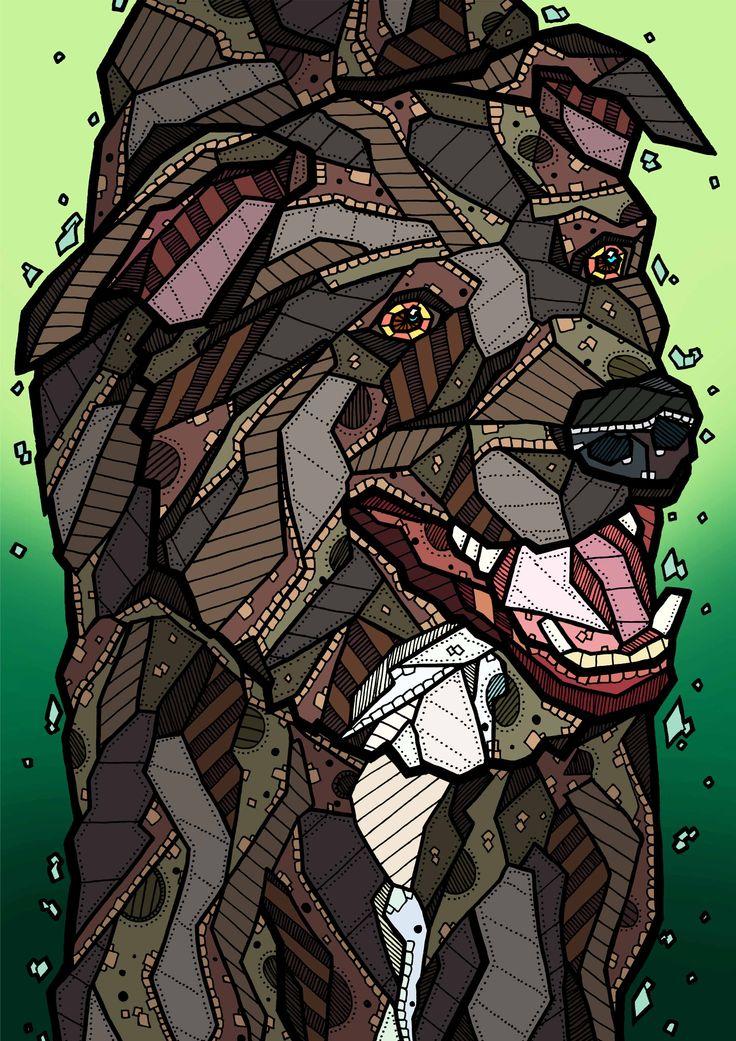 """Marley"" Illustration by Kelly Blake"