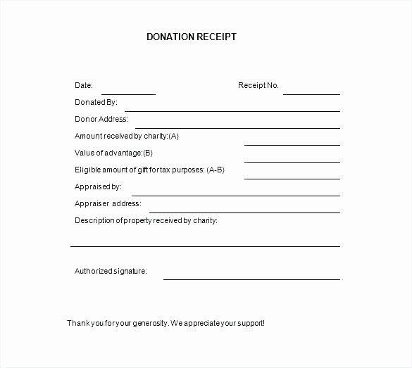 Nonprofit Donation Receipt Template Fresh 15 Nonprofit Donation Receipt Template Receipt Template Donation Letter Donation Letter Template