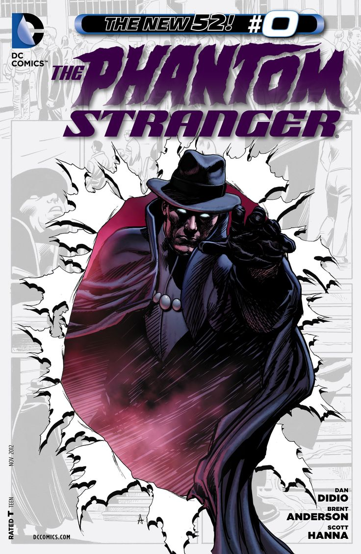 Trinity Of Sin: The Phantom Stranger #0