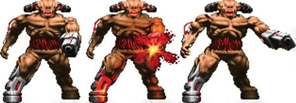 Cyberdemon - Doom video game monster