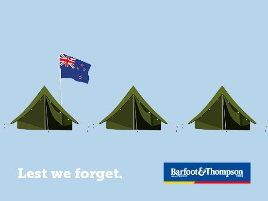 Anzac Day is a time to reflect on the servicemen and servicewomen, past and present, who have displayed courage and self-sacrifice serving our country. #barfoothompson #anzac