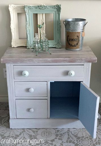 DIY on Pinterest  French linens, Chalk paint cabinets and Wine cellar