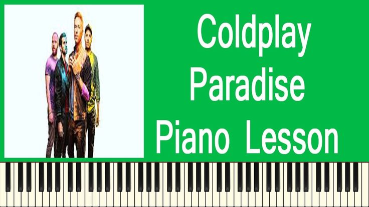 Coldplay Paradise   Easy Piano Lesson - How To Play Coldplay Paradise On...