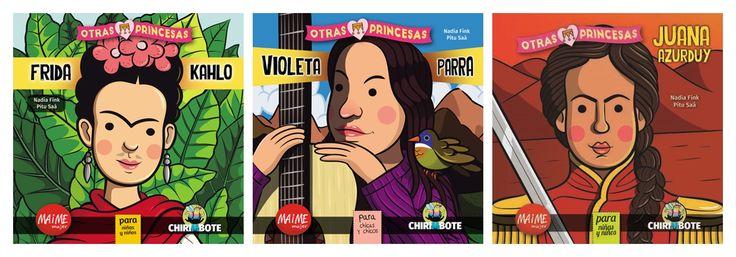 """Colección """"Otras princesas"""" (Editorial MAIME Mujer) #MujeresDeLaHistoria"""