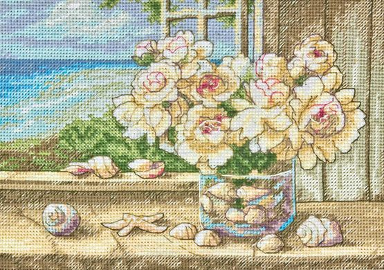 By The Sea Cross Stitch Kit £14.00 | Past Impressions | Dimensions