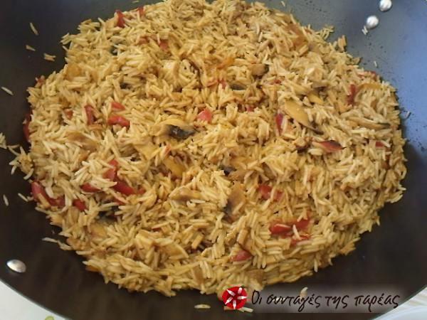 Κινέζικο τηγανιτό ρύζι #sintagespareas