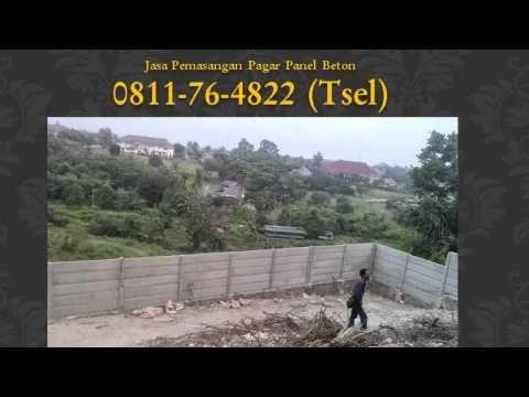 0811-76-4822 (Tsel),  Jasa Pasang Pagar Panel Beton Pekanbaru