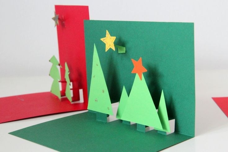 Simple, but Lovely 3D Christmas Card