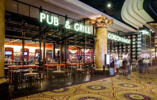 Gordon Ramsay Pub & Grill at Caesars Palace and Gordon Ramsay BurGR at Planet Hollywood Resort & Casino Now Open For Lunch and Dinner  Chef Gordon Ramsay makes history in Las Vegas opening two different restaurants in two different locations within a week of each other on the famed Las Vegas Strip - the celebrated chef has opened three different restaurants in three locations all in one year
