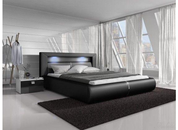 25 beste idee n over zwarte bedden op pinterest zwarte. Black Bedroom Furniture Sets. Home Design Ideas