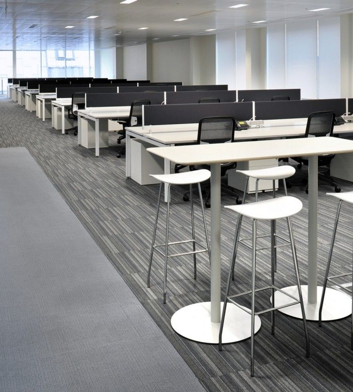 Open Plan Office with stool! #openplanoffice Cubicles.com