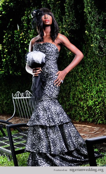 Nigerian wedding dresses by Mai Atafo 2012 collection 2
