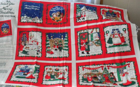 CHRISTMAS VINTAGE 1995 Fabric Traditions by BAGLADYFROMTHEBAY