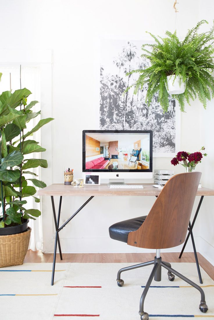 Uncategorized small home office tour organization youtube beauty room tour makeup collection jaclyn hill youtube loft apartment - 5 Creative Office Design Tips By Laure Joliet Including Plants Of Course