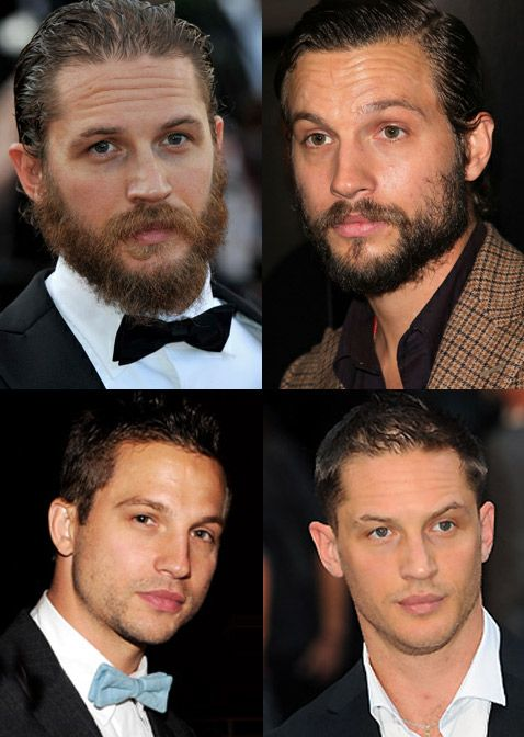 Tom Hardy and Logan Marshall-Green...sexy look-a-likes. I'll take both please!