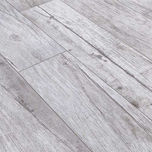 Rustic White Wood Porcelain Tile 8x48 Plank Non Skid For Patio And