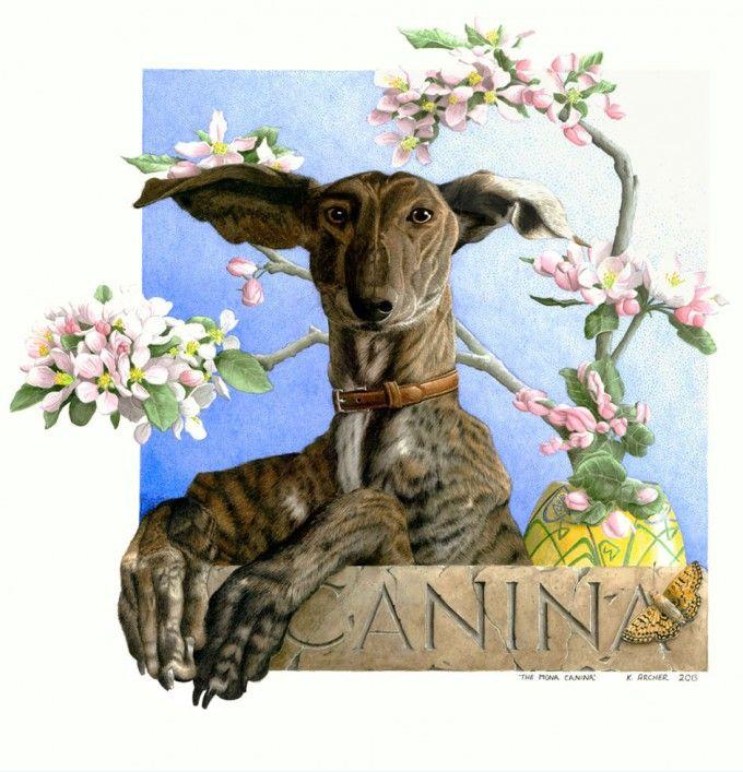 Portfolio - Kelly Archer Wildlife & Pet Portraits  #greyhound #painting #watercolor #watercolour #stilllife #portraits #petportraits