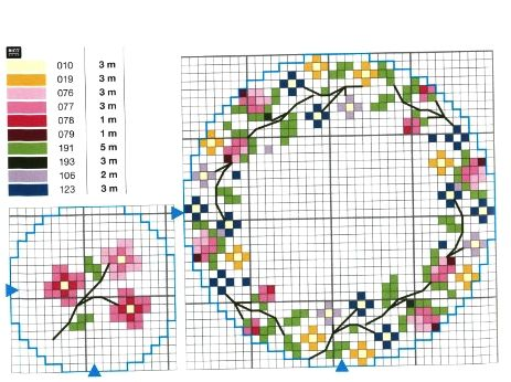 Roselline+a+punto+croce2.jpg (463×346)