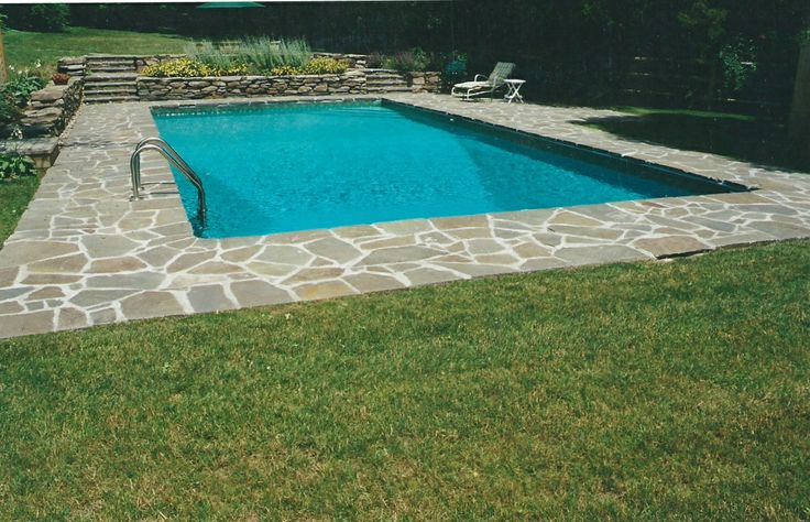 53 best images about backyard pools on pinterest for Pool design 1970