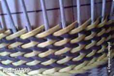Мастер-класс Поделка изделие Плетение Рыбьи косточки Бумага газетная Трубочки бумажные фото 23