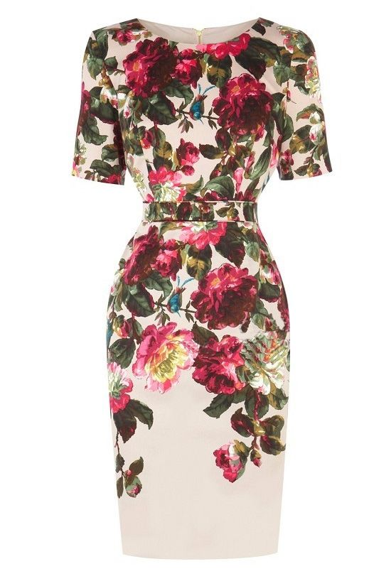 Floral pencil dress                                                                                                                                                     More