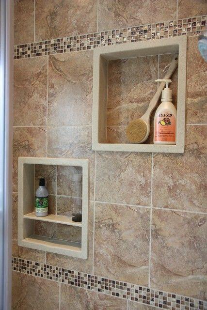 ideas about shower niche on pinterest master shower shower bathroom