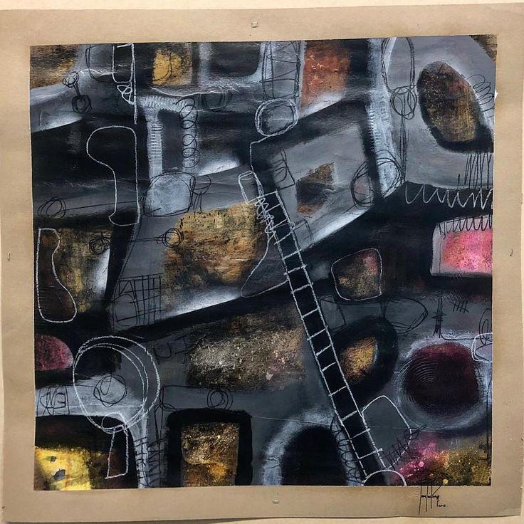 "juanluisperez1""Memorias Internas"" 36""x36"" técnica mixta sobre cartulina, ""Internal Memories"" mixed media on paper. Serie, historias horizontales en papel. La producción continúa hasta que se acabe el papel. 🎨✍️ #artworks #cubanart #cubanartist #art #artist #artwork #gallery #habana #painting #arte #galleryart #abstrat #abstractart #museumart #artista #modernart #contemporaryart #artsrow #flaming_abstracts #artcronica #juanluisperez1  #twfineart #globalartagency #abstractmag #dailycollector…"