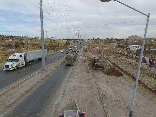 Finaliza Gobierno Municipal la reparación de la carretera a Cuauhtémoc   El Puntero