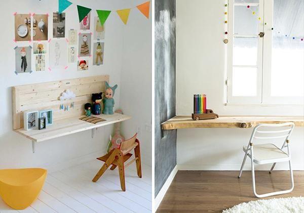 Diez escritorios infantiles que podrás hacer tu mismo, ¡nos encantan!