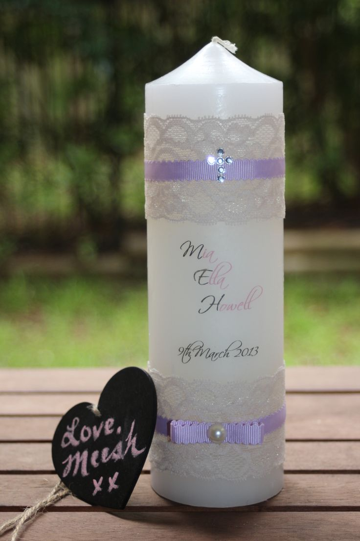 Gmail love theme - Love Meesh Xx Girls Christening Candles Candles Can Be Tailored To Suit Your Theme