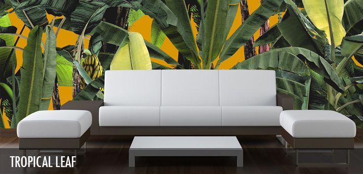 Tropical Leaf - Robin Sprong Surface Designer