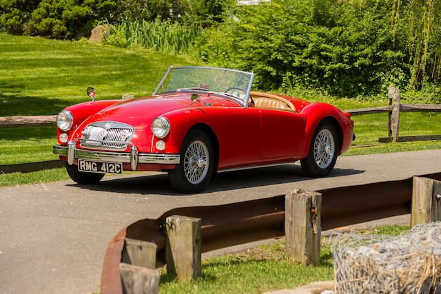 <b>1961 MGA 1600 Roadster</b><br />Chassis no. 88054<br />Engine no. 16GA-U 19226