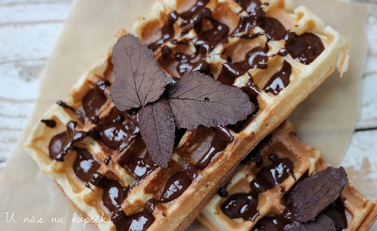 Belgické wafle