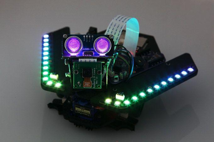 Spirit Rover - Learn Raspberry Pi and Arduino the fun way! by Plum Geek — Kickstarter